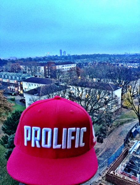 Image of Prolific Snapback - Red
