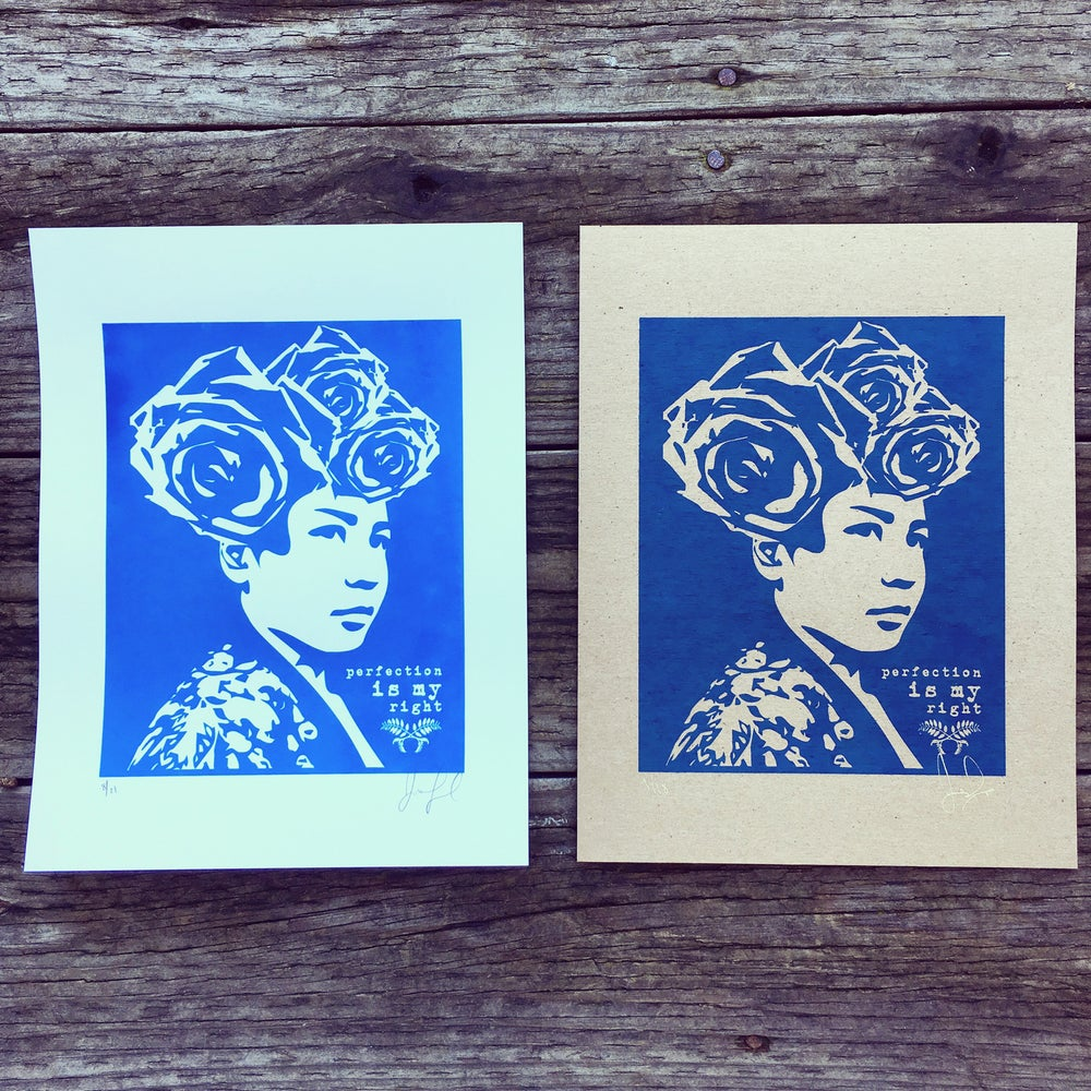 Image of Perfection is My Right Second Edition Mini Prints