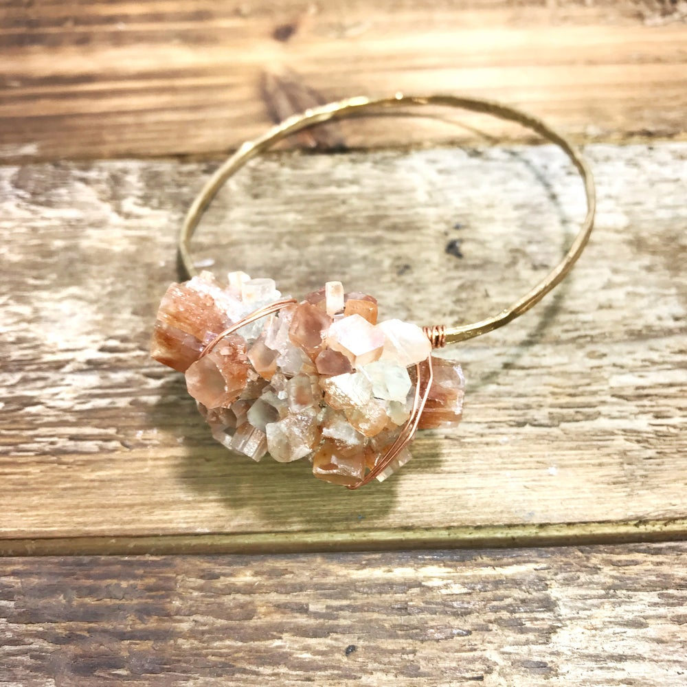 Image of Chunky Aragonite Crystal Cuff