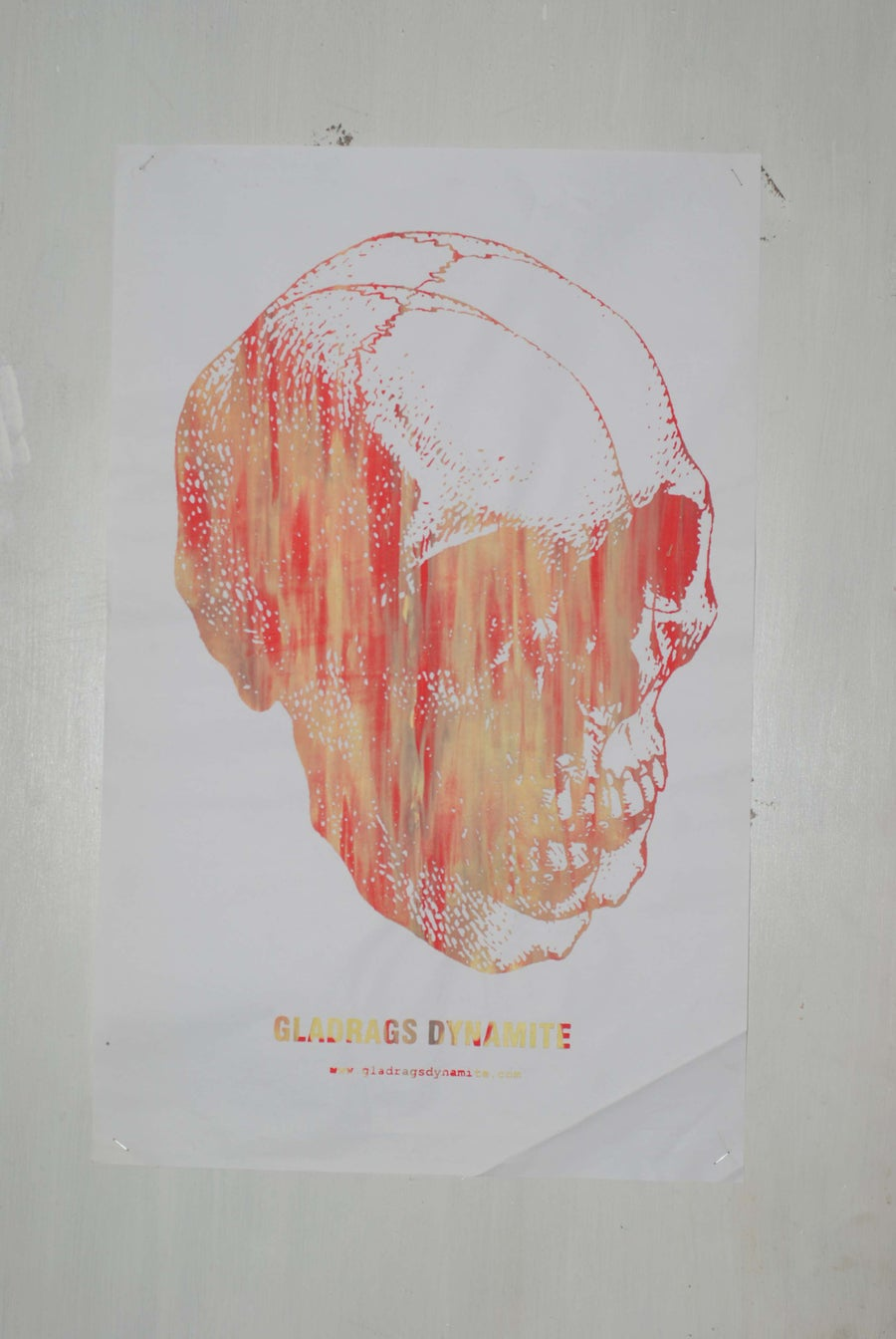 Image of GLADRAGS DYNAMITE POSTER