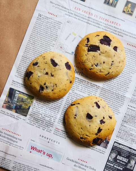 Image of Jumbo Chocolate Chip Cookies pack of 3