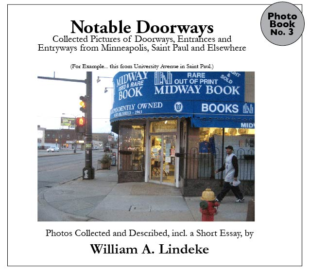 """Image of """"Notable Doorways"""", a collection of doorway and entrance photography"""