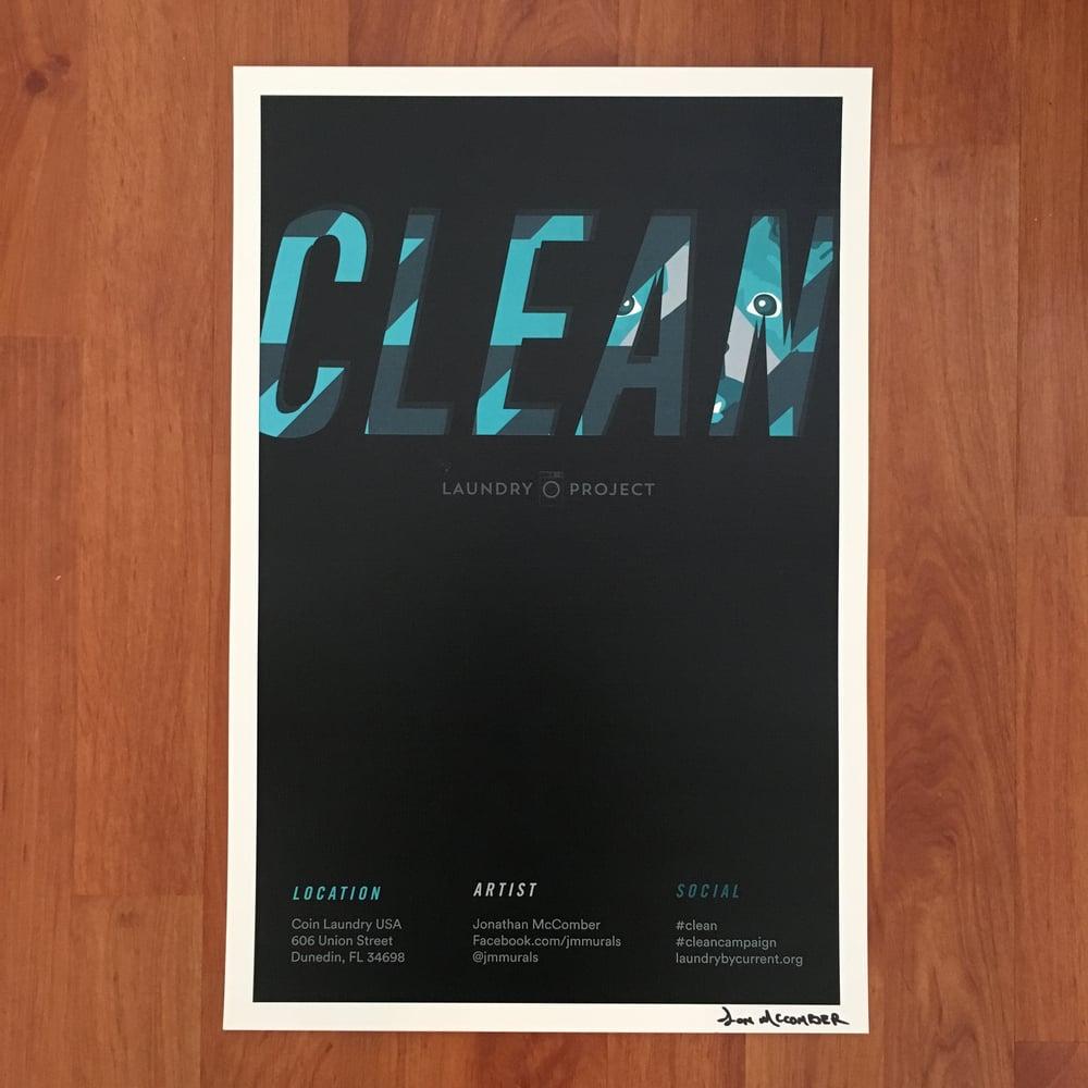 Image of Dunedin CLEAN Mural Print