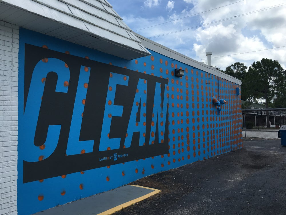 Image of Carrollwood CLEAN Mural Print