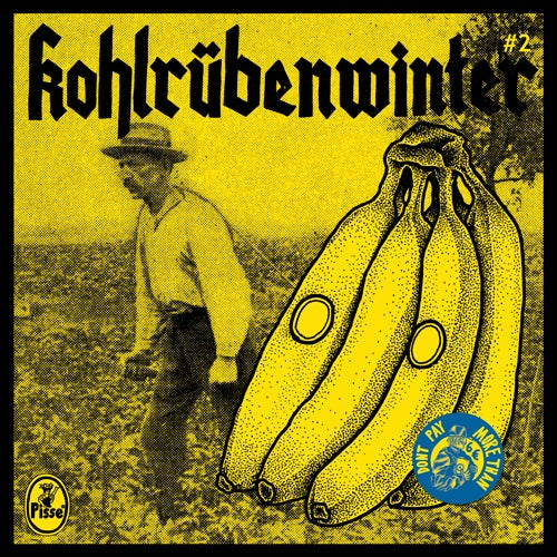 "Image of Pisse - Kohlrübenwinter #2 7"" (4th press)"