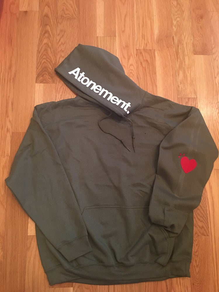 "Image of The ""Heart On My Sleeve"" Pullover Hoodie"
