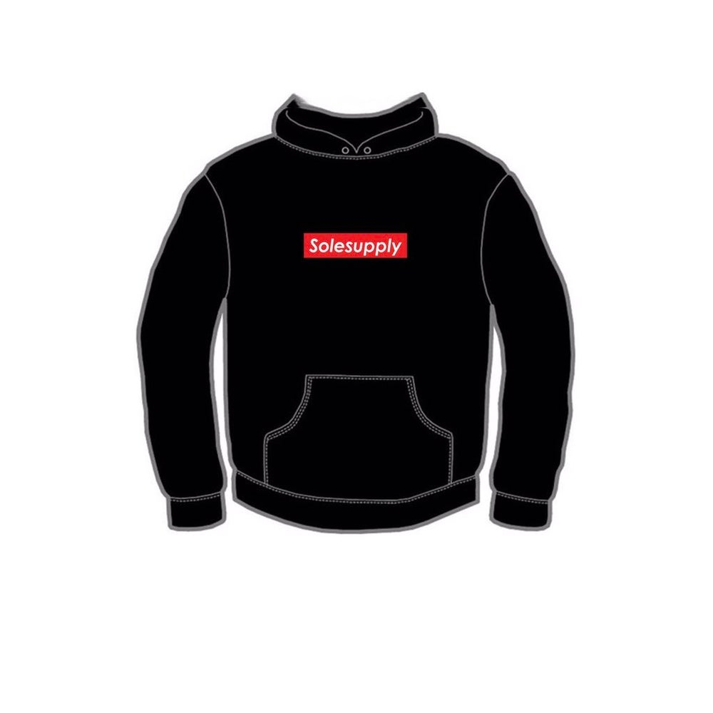 Image of Box Logo Hooded Sweatshirt