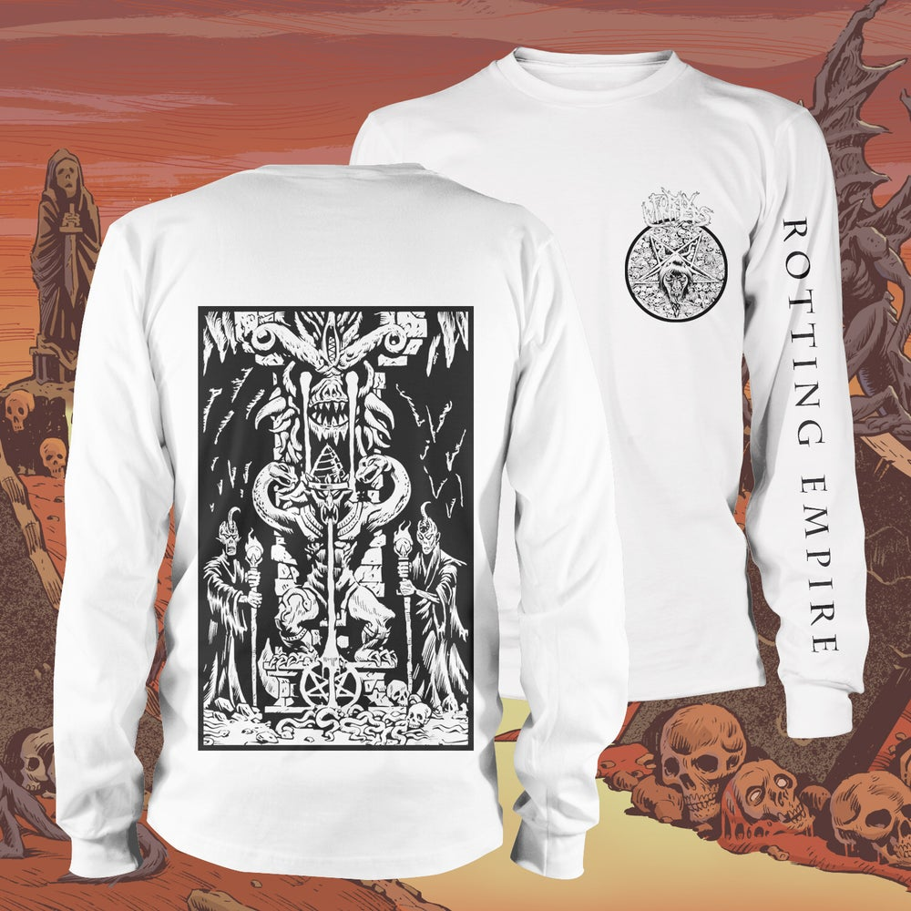 Image of Rotting Empire Long Sleeve Shirt (S, 2X, 3X ONLY)