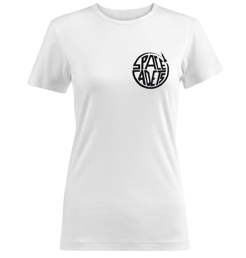 Image of Girl T-Shirt White Small Logo