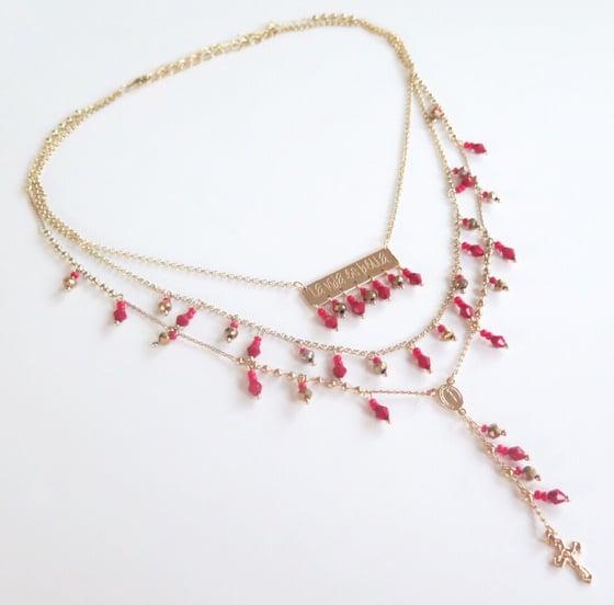 Image of La Vida Es Bella Rosary