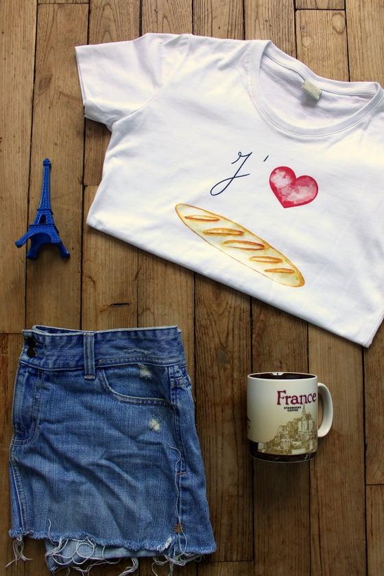 Image of Baguette Love T-Shirt