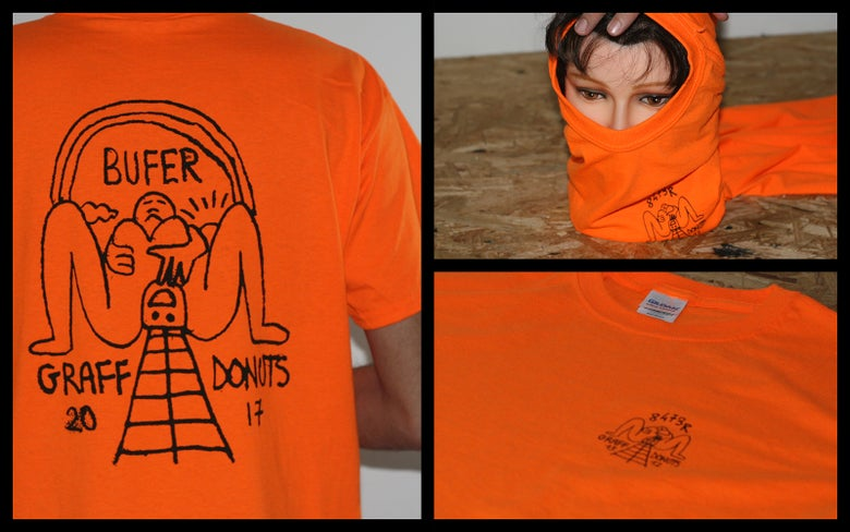 "Image of BUFER ""WET TUNNEL"" TEE"