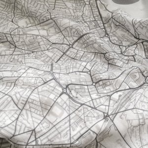 Image of Des Moines IA map t-shirt