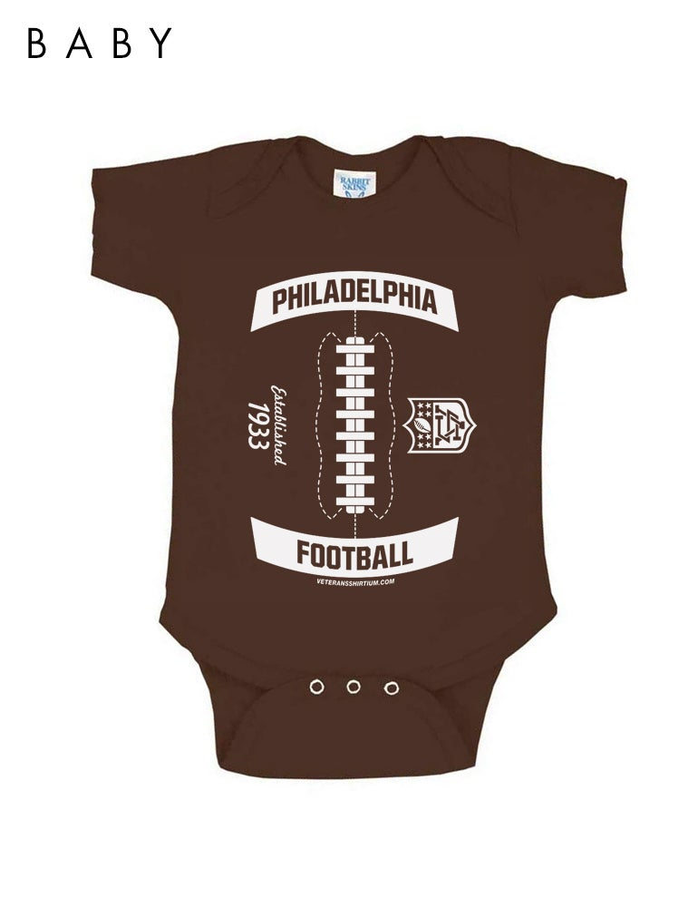 Image of Little Football Infant Onesie