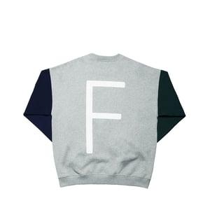 Image of FUTUR x MINUIT - REFLECTIVE F CREW NECK