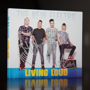 Image of **AUTOGRAPHED** Living Loud EP
