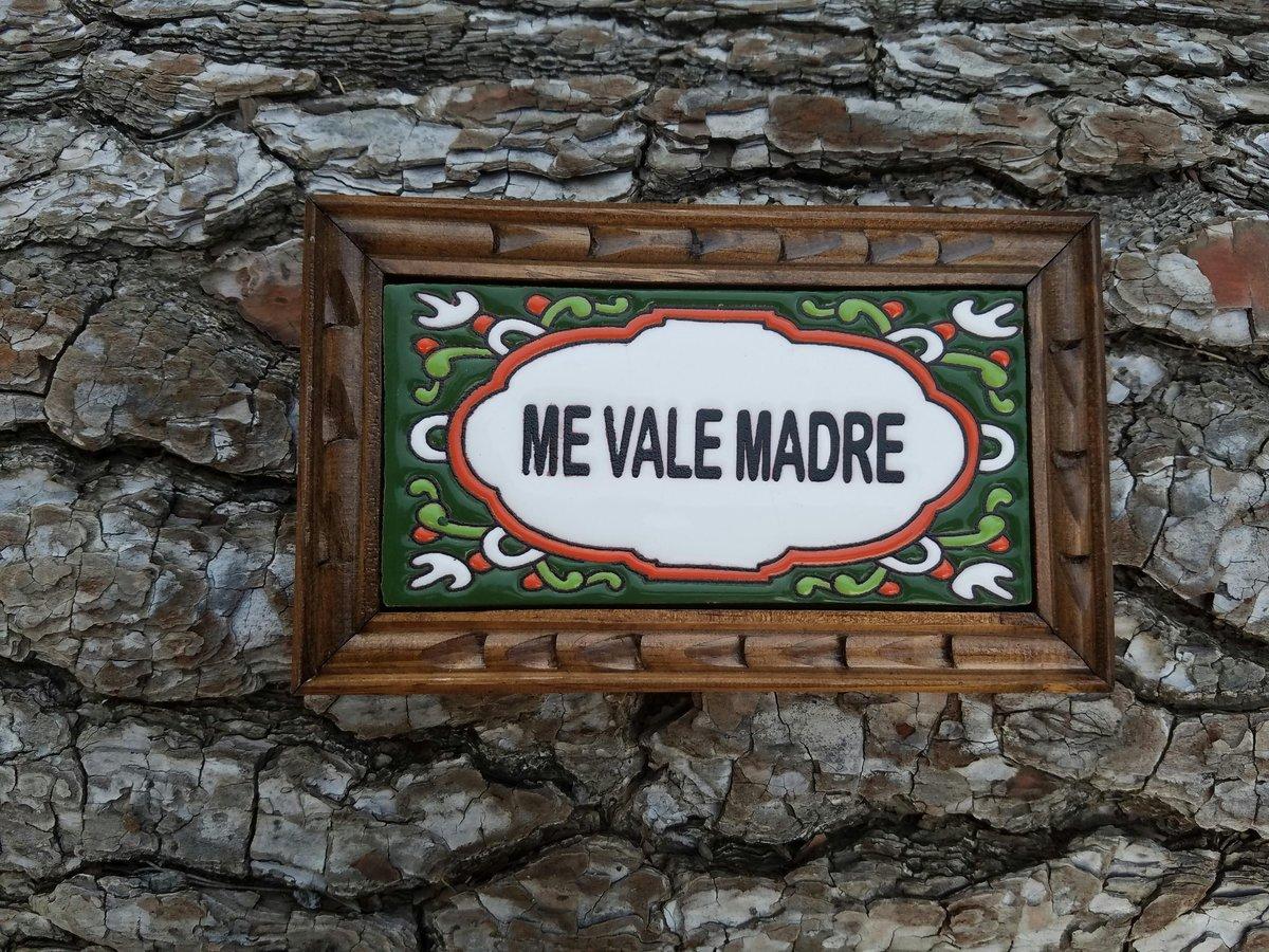 Image of Me Vale Rectangle Wood Framed Tiles