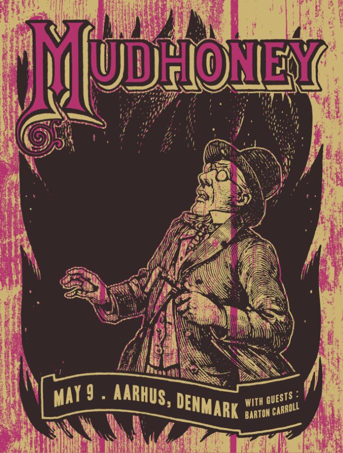 Image of Mudhoney - May 9, 2015 / Aarhus, Denmark