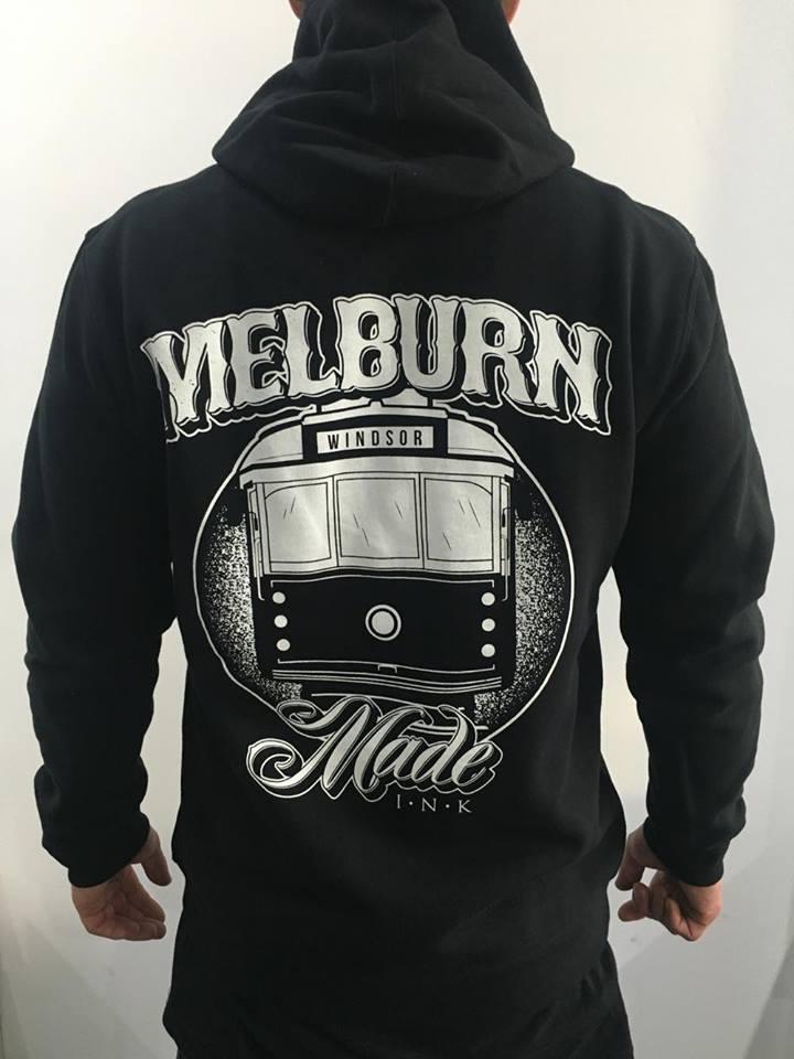 Image of Melburn Made Tram Logo Hoodie