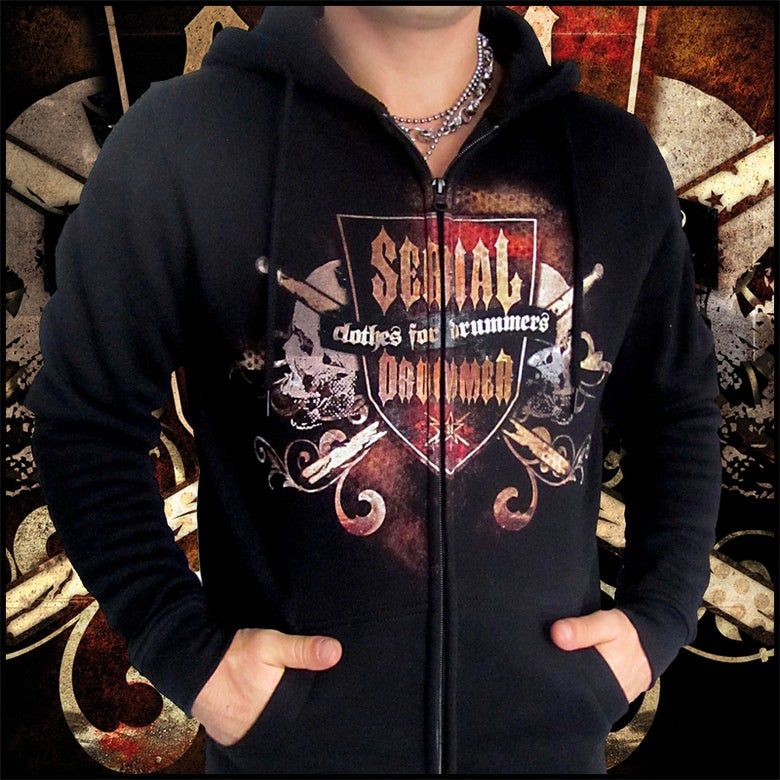 Image of SHIELD SWEAT HOODY ZIP