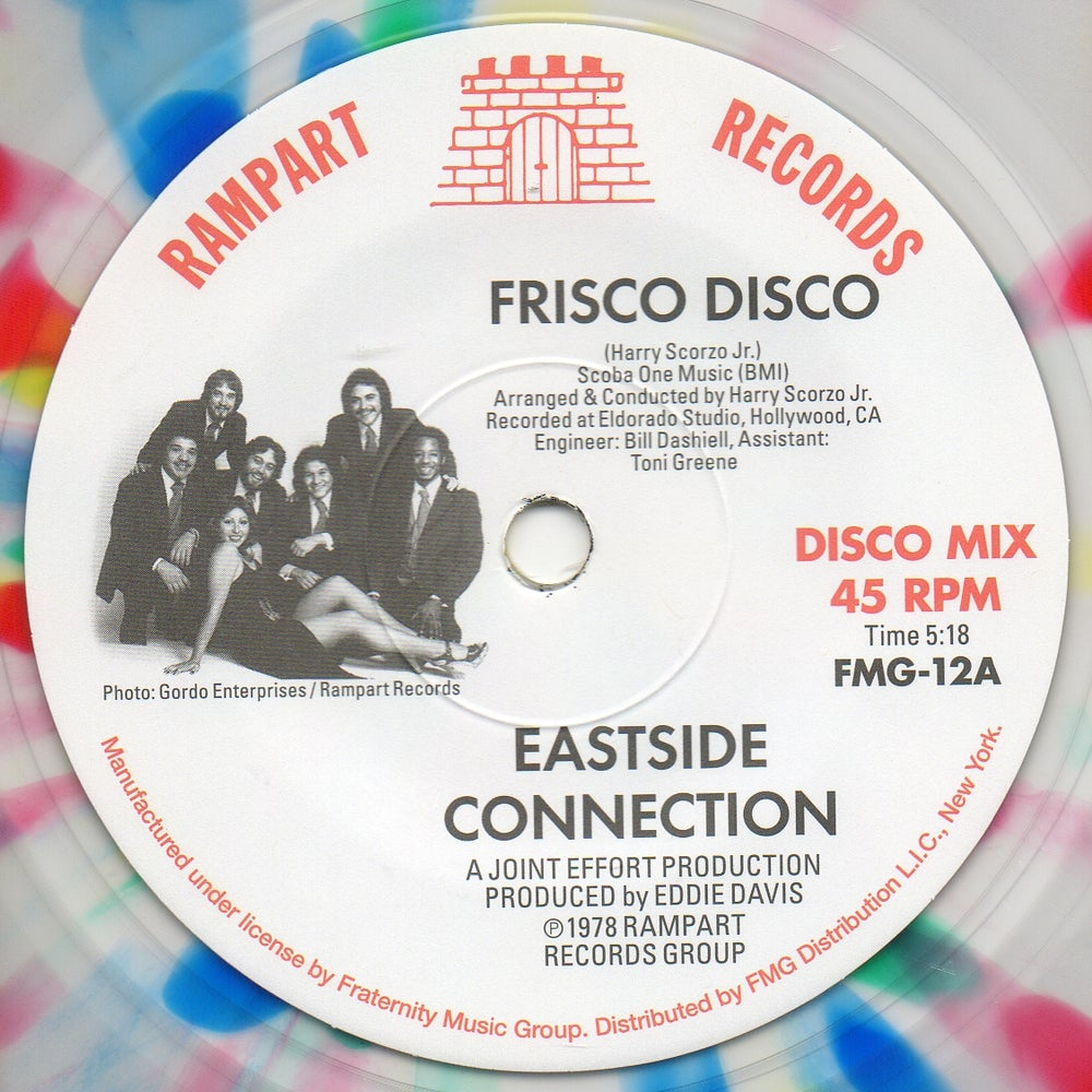 "Image of Frisco Disco / It's Real - 7"" Splatter Vinyl"