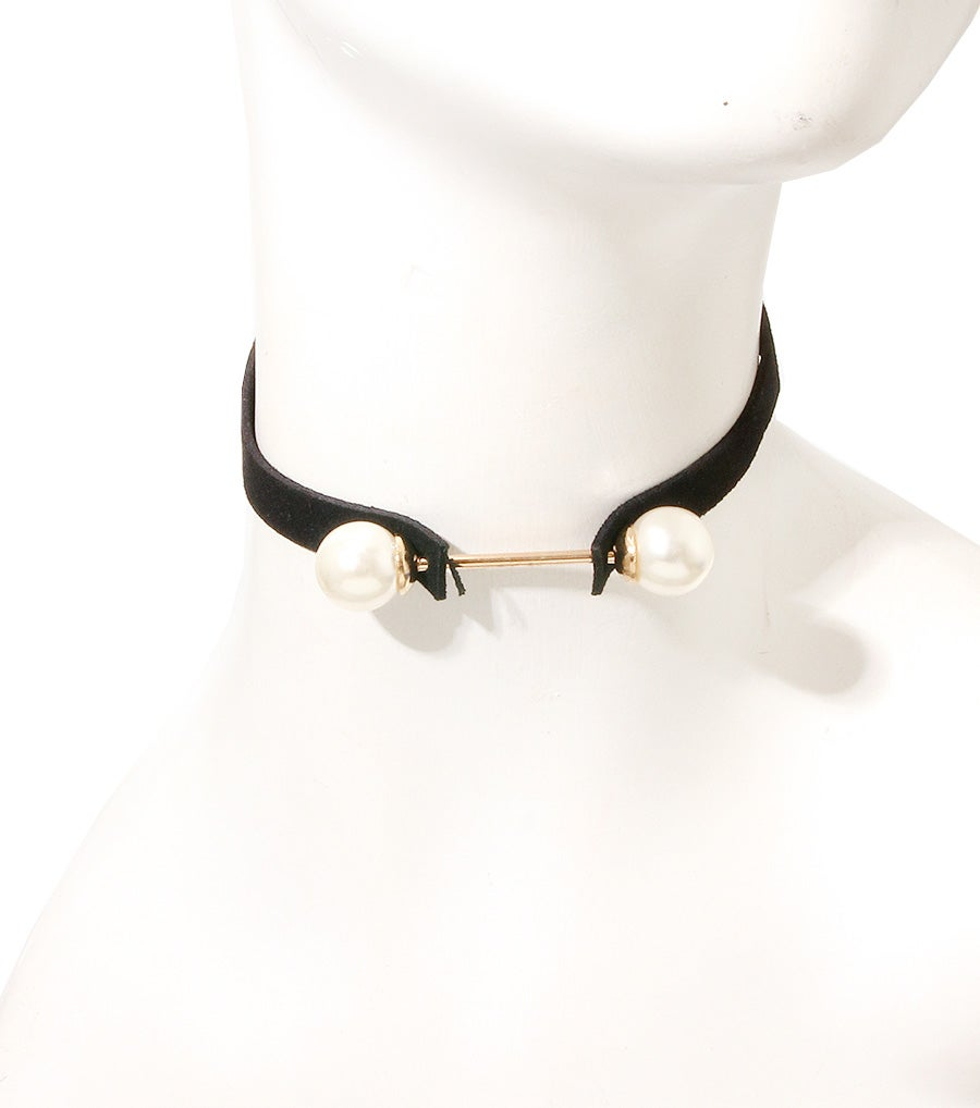 Image of Pearl Bar Choker