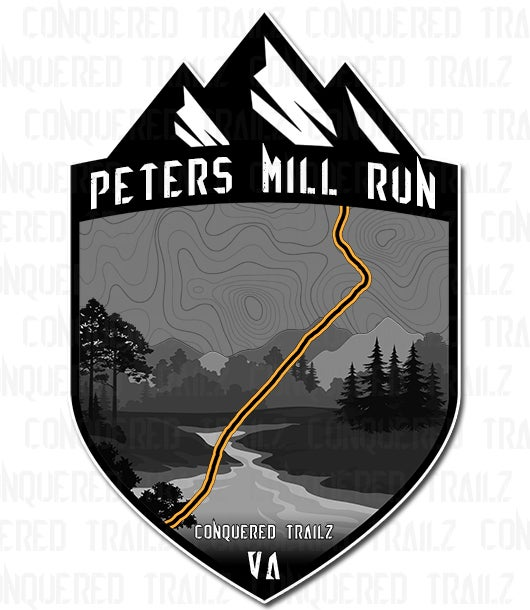 "Image of ""Peters Mill Run"" Trail Badge"