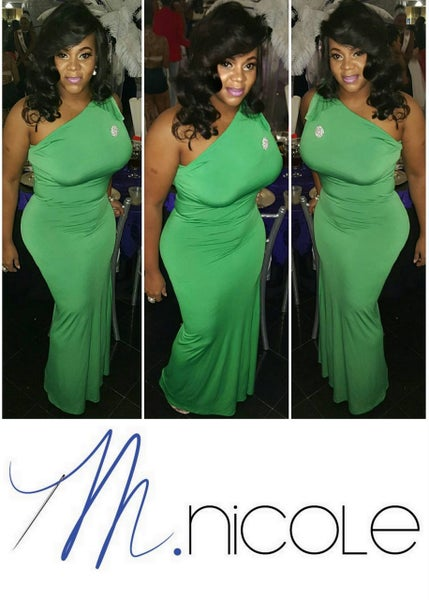 Image of M.Nicole Closet | Apple Green Goddness Dress
