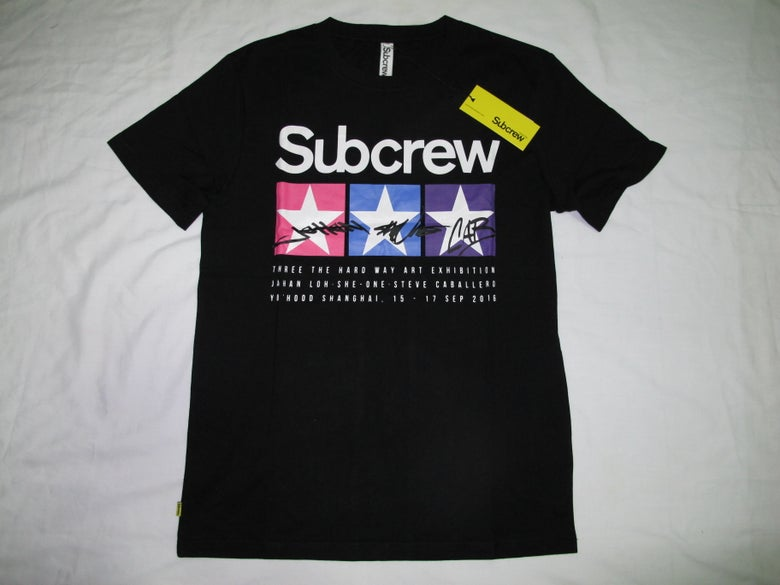 Image of SubCrew X YOHOOD - Star Logo Tee