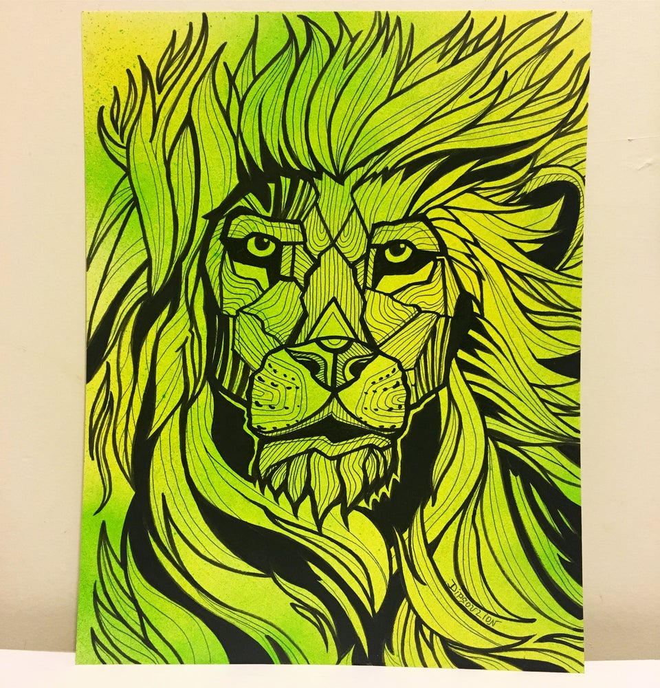 Image of Lion illustration