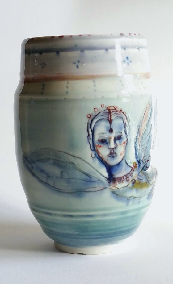 Image of Metamorphosis   Porcelain Vase