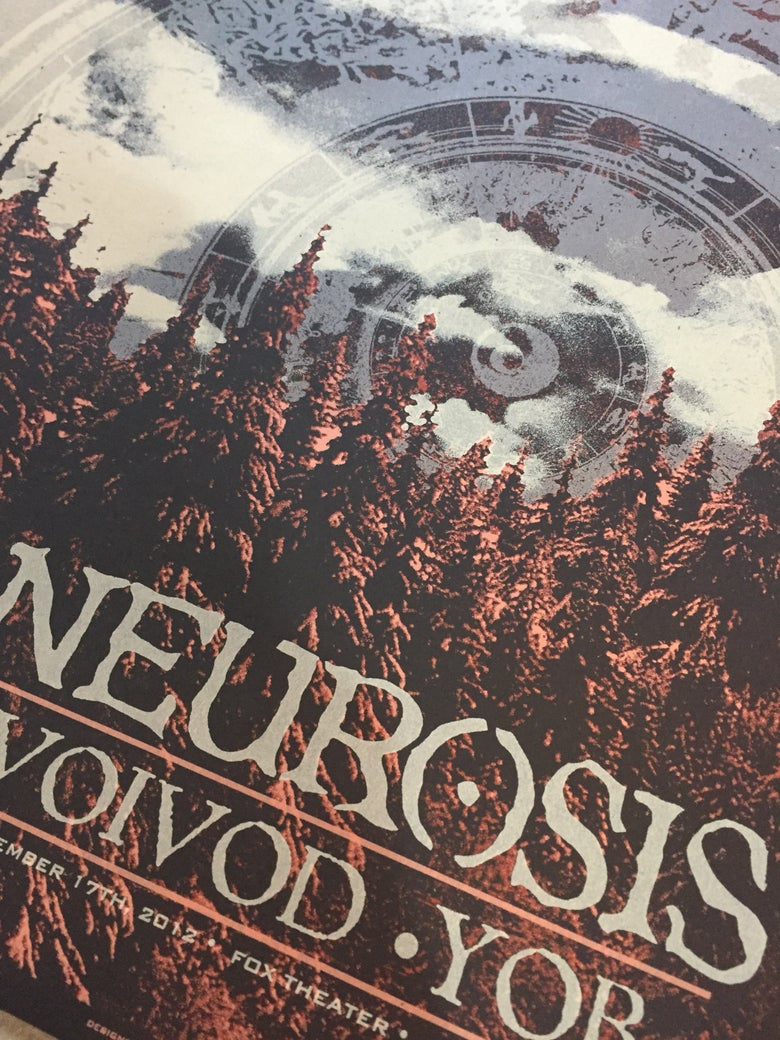 Image of Neurosis November 17th,2012 Oakland,CA