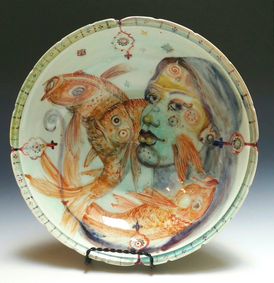 Image of Fishhead  Porcelain Bowl