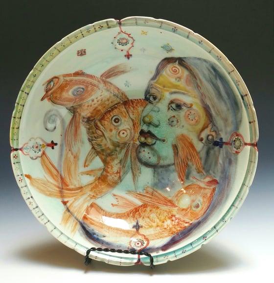 Image of Fishhead  Porcelain Bowl