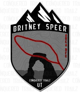 "Image of ""Britney Speer"" Trail Badge"