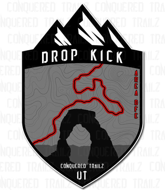 "Image of ""Drop Kick"" Trail Badge"