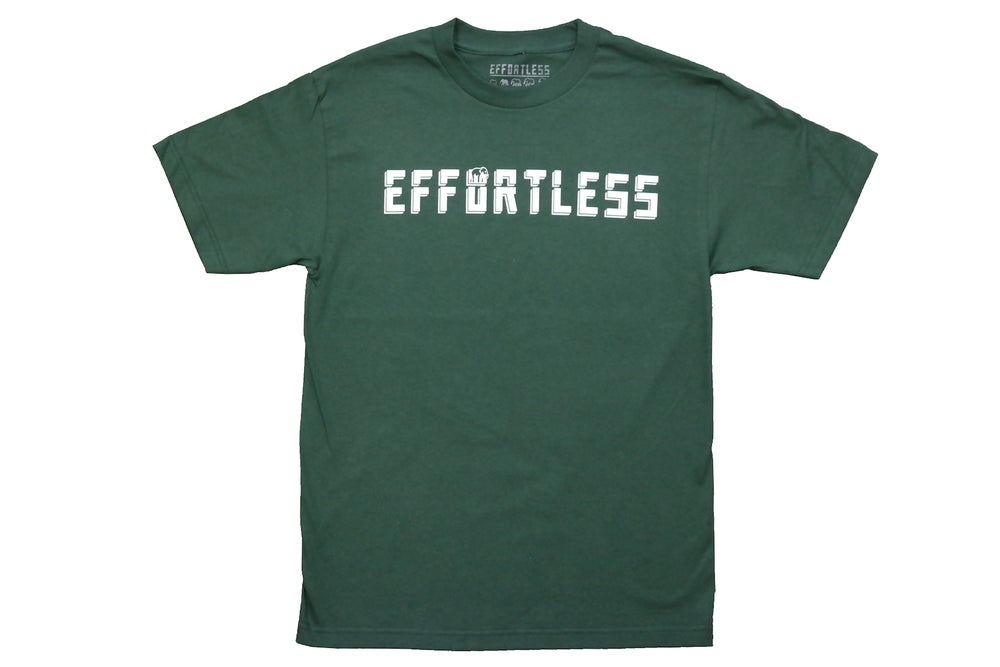 Image of Script Tee (Forest Green)