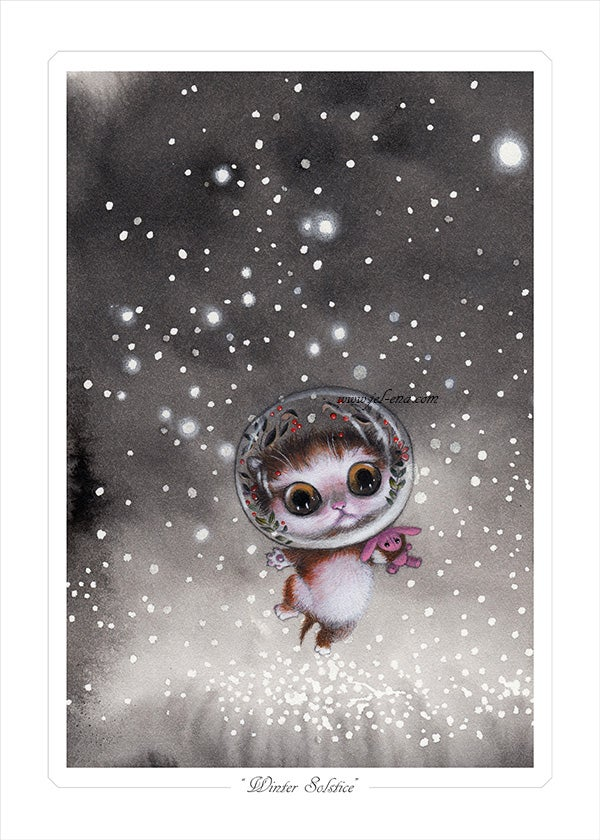 "Image of ""Winter Solstice"" Limited edition Print"