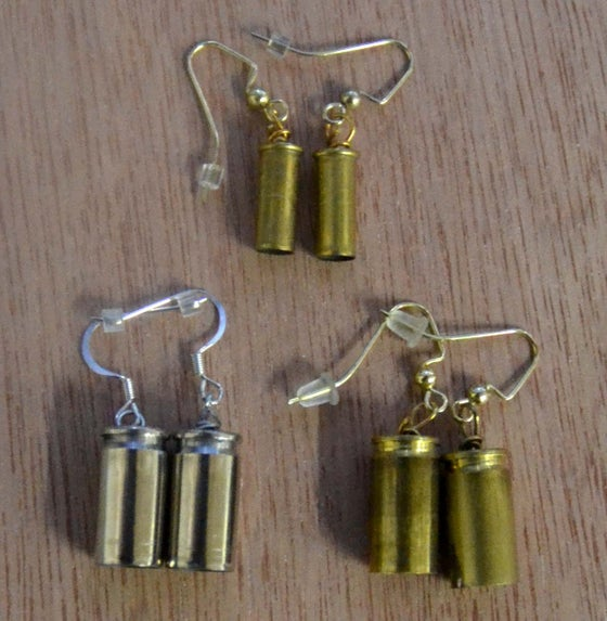 Image of Bullet Proof Earrings