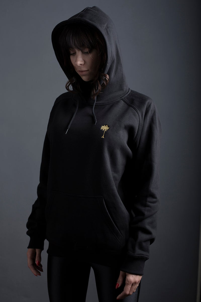 Image of HOODIE / BLACK / WOMAN