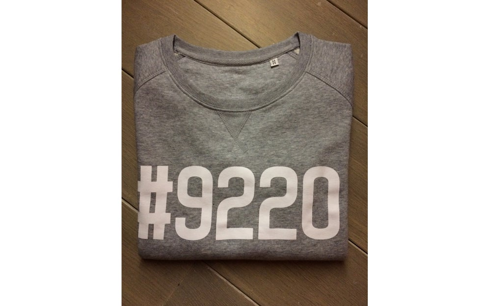 Image of #9220 SWEATER HEATHER GREY (WOMEN)