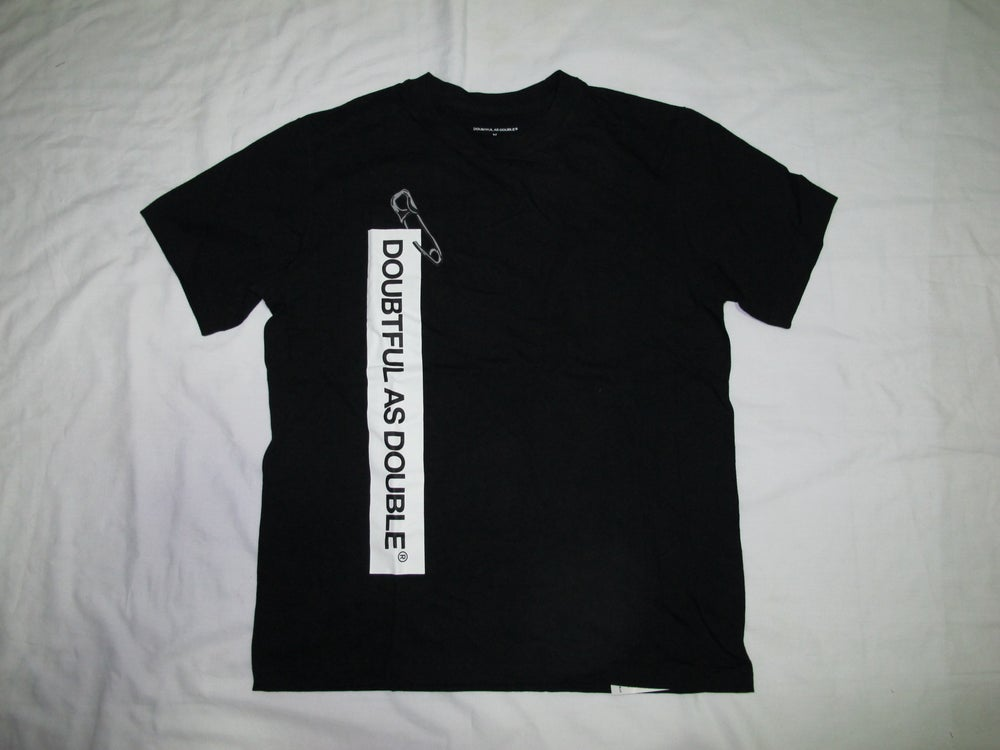 Image of DOUBTFUL AS DOUBLE® by NIGO & Tetsu Nishiyama (Wtaps)- Needle Tee(Black)