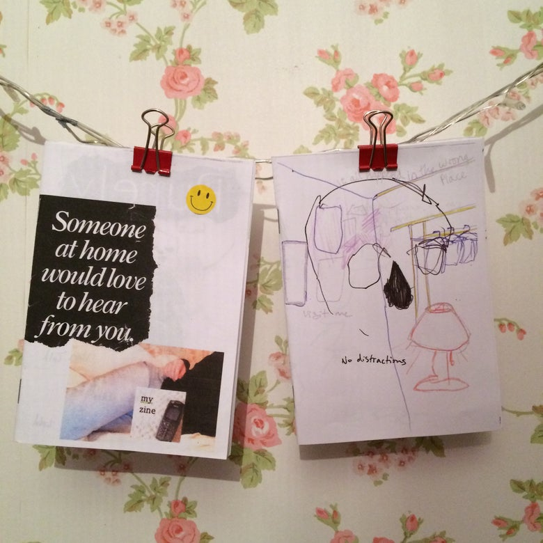 Image of 2 diary zine pack