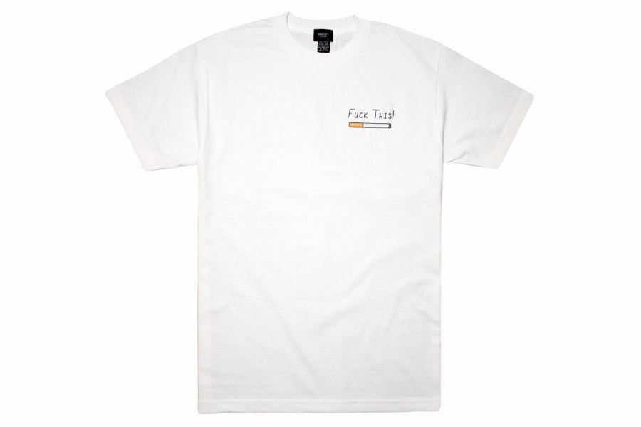 Image of Fuck Corporate America Tee (White)