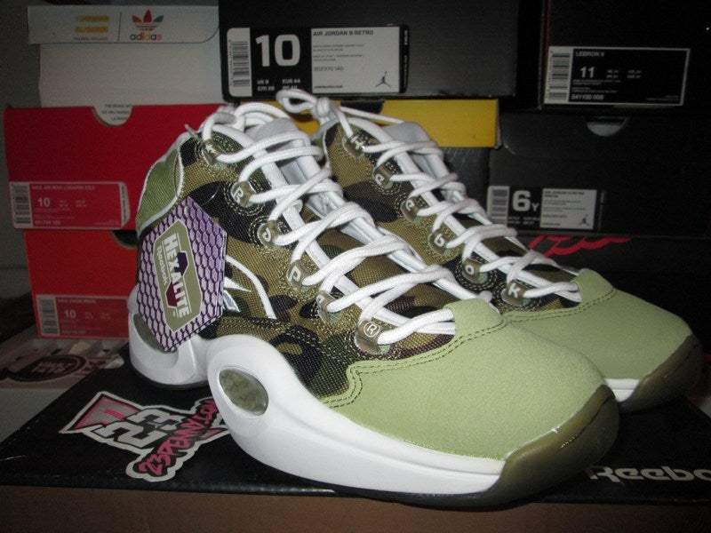 "Image of Reebok Question Mid ""Bape"""