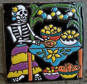 Image of Tamales Coaster Tile