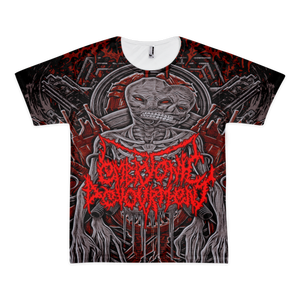 Image of EMBRYONIC DEVOURMENT - Evil Reptile - All over shirt