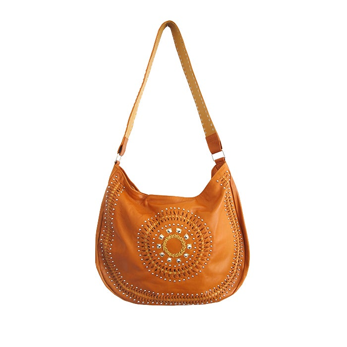 Image of DARIUS LEATHER HANDBAG