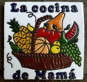 Image of La Cocina Coaster Tile