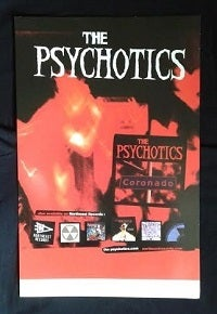 Image of The Psychotics - 11 x 17 Poster
